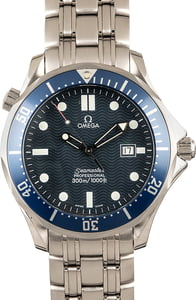 Pre-Owned Omega Seamaster Pro 300M Blue Wave Dial