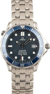 Pre-Owned Omega Seamaster 300M Blue Wave Dial