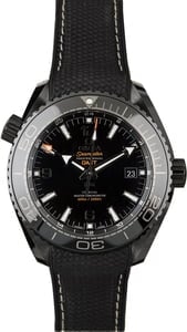 Omega Seamaster Planet Black Rubber Strap