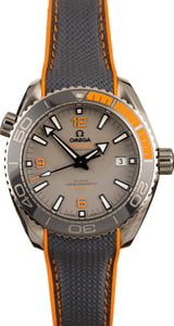 Omega Seamaster Planet Ocean Gray & Orange
