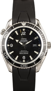 PreOwned Omega Seamaster Planet Ocean 600M Stainless Steel