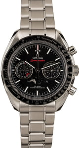 Omega Speedmaster Moonphase Chronograph Black Dial