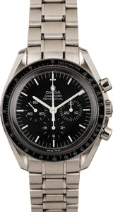 Omega Speedmaster Moonwatch Professional Chronograph Black Dial