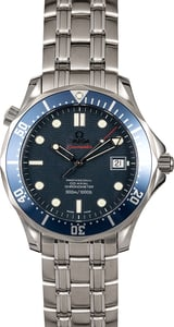 Omega Seamaster Pro 300M Blue Dial