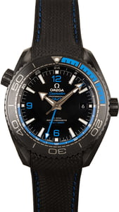 "Omega Seamaster Planet Ocean Ref. 215.92.46.22.01.002 ""Deep Black"" MoonWatch"