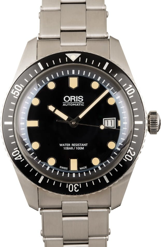 Oris Divers Sixty-Five Stainless Steel Band