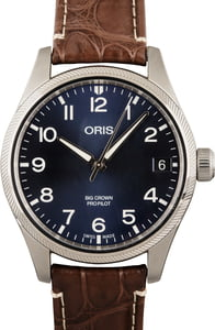 Oris Big Crown Pro Pilot Big Date Stainless Steel