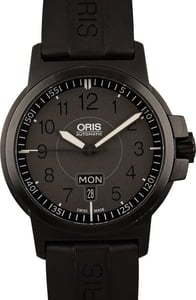Oris BC3 Advanced Day Date Black Rubber Strap