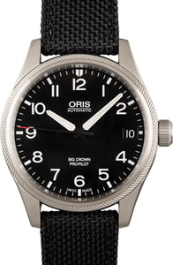 Oris Big Crown Pro Pilot Big Date Steel