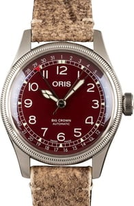 Oris Big Crown Pointer Date Red Dial