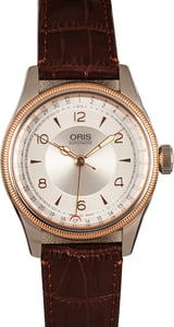 Oris Big Crown Pointer Date Silver Guilloche Dial