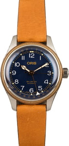 Oris Big Crown Pointer Date Blue Arabic Dial