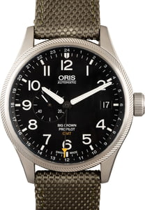 Oris Big Crown Pro Pilot GMT Stainless Steel