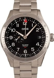 Oris Big Crown Pro Pilot Timer GMT Stainless Steel