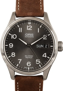 Oris Big Crown ProPilot Big Day Date Leather Band