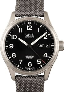 Oris Big Crown ProPilot Big Day Date Steel