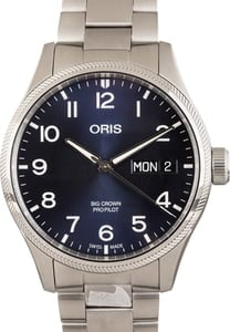Oris Big Crown Propilot Big Day Date Stainless Steel
