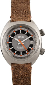 PreOwned Oris Chronoris Date Grey Dial