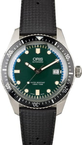 Oris Sixty-Five Green Dial