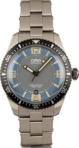 Oris Divers Sixty Five Blue Grey Dial