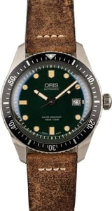 Oris Diver Sixty-Five Green Dial