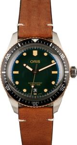 Oris Divers Sixty-Five Green Dial