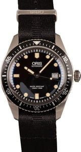 Oris Divers Sixty-Five 42MM Black Textile Strap