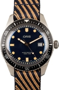 Oris Sixty-Five Automatic Blue Dial