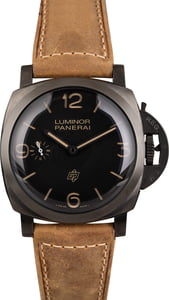 PreOwned Panerai Luminor PAM617 Titanium 47MM Limited Edition