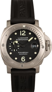 Panerai Luminor Submersible PAM 025 Titanium
