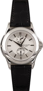 Patek Philippe 5134P Calatrava Travel Time Platinum