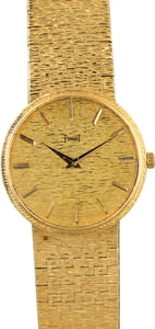 Vintage 18K Yellow Gold Piaget 9366A6