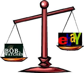 Bob's Watches vs. eBay