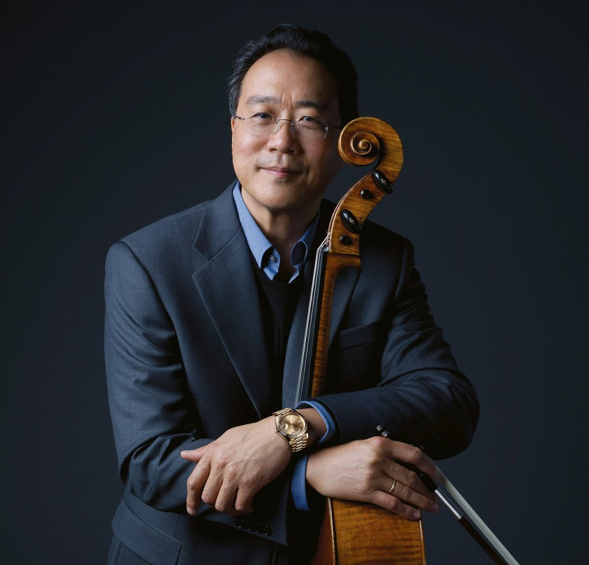 Yo Yo Ma is a musician who is a master at the cello.
