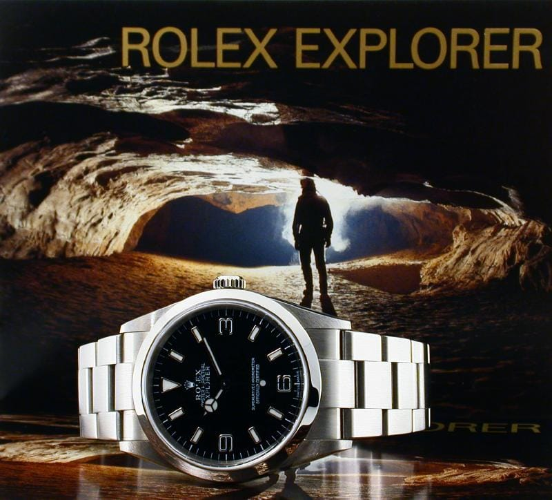 Rolex Explorer is made for people like Sir Edmund Hillary.