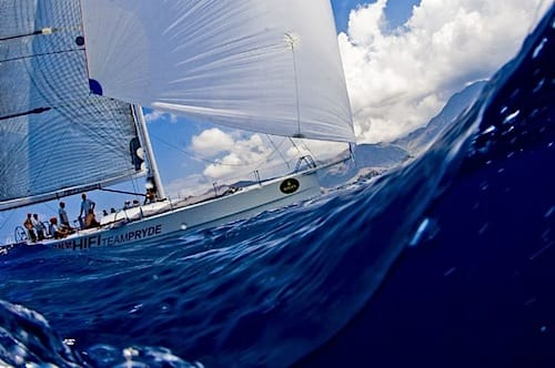 Rolex China Sea Race Action