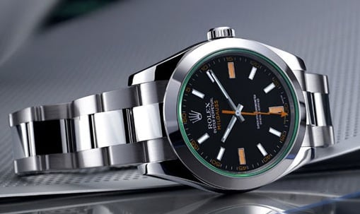 A used rolex milgauss is a popular watch.