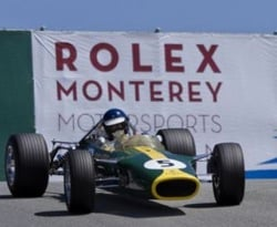 The Monterey Motorsports features many vintage cars.