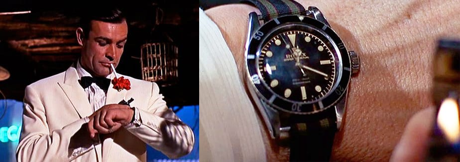 Rolex Submariner James Bond 007, a Famous Rolex