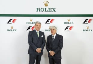 Rolex partners with Formula 1