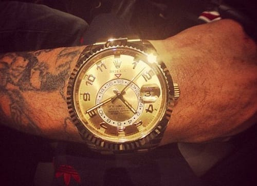 Chris Brown's Rolex Sky-Dweller