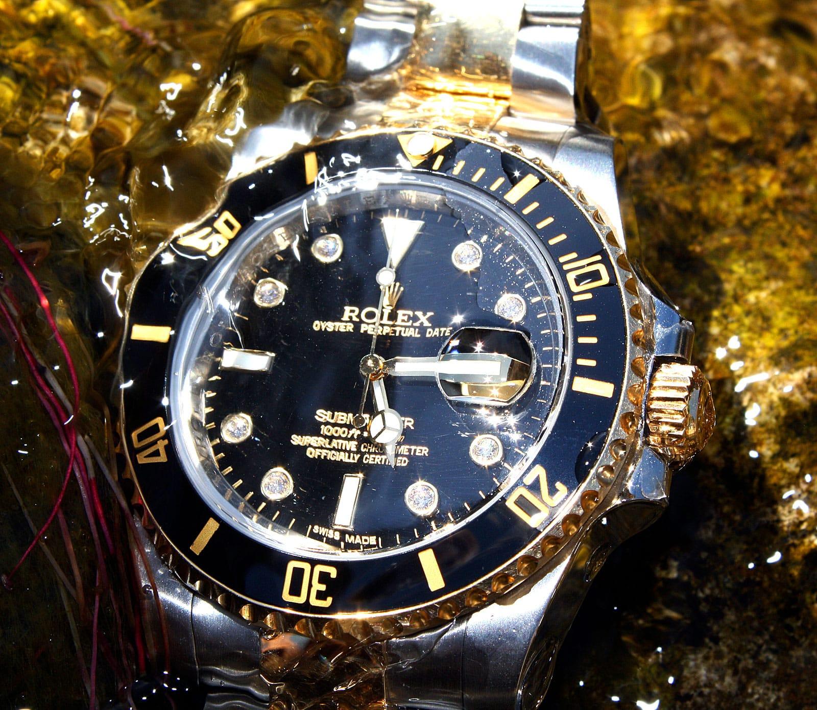 two-tone Rolex Submariner