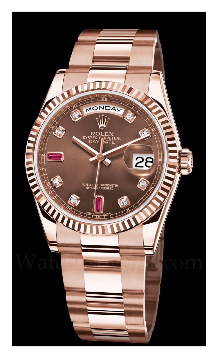 Rolex Presidential Day Date Rose Gold