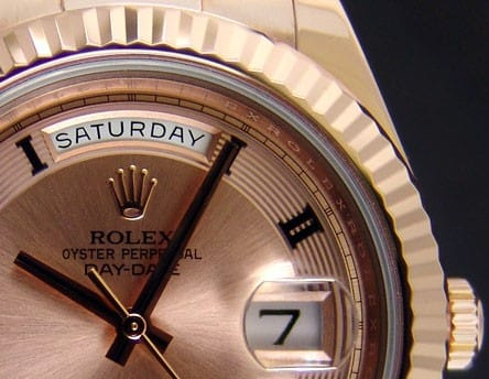 Rolex Presidential Day Date.