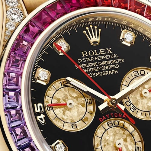 rolex daytona rainbow 116598 is a watch that is highly coveted.