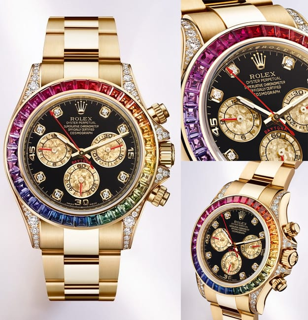 Rolex Daytona Rainbow Bob's Watches.