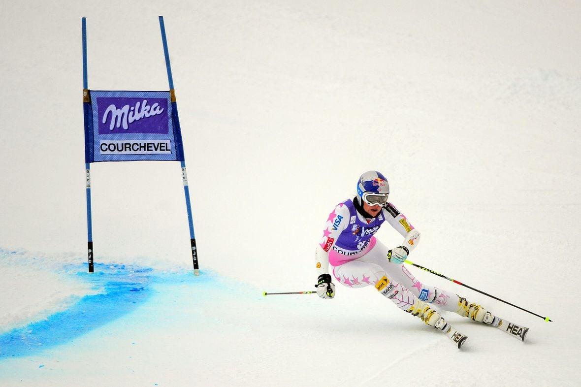 Ski Week Lindsey Vonn Champion Skier Rolex Ambassador
