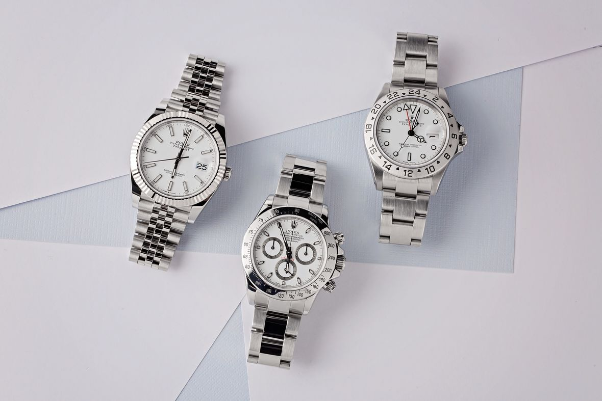 Best Rolex Watches Ski Week Snow White Dials