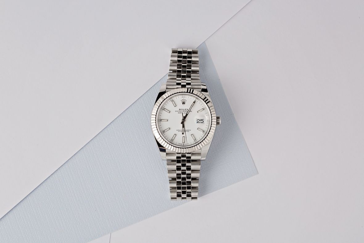 Ski Week Rolex Datejust 126334 White Dial Jubilee Bracelet