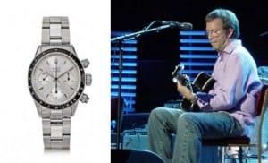 Most expensive Rolex - Eric Clapton